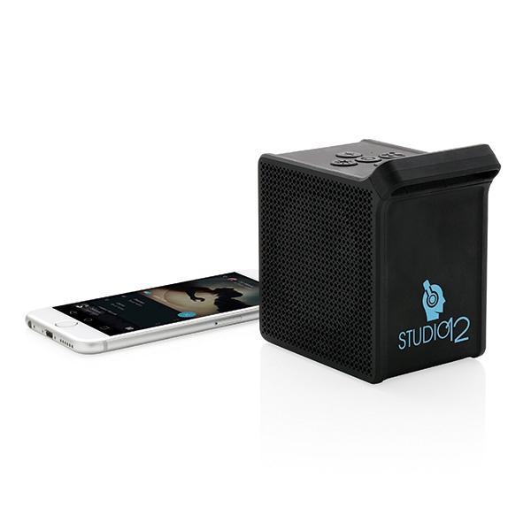 Haut-parleur personnalisé 5 W avec application PixArt - Cadeau publicitaire