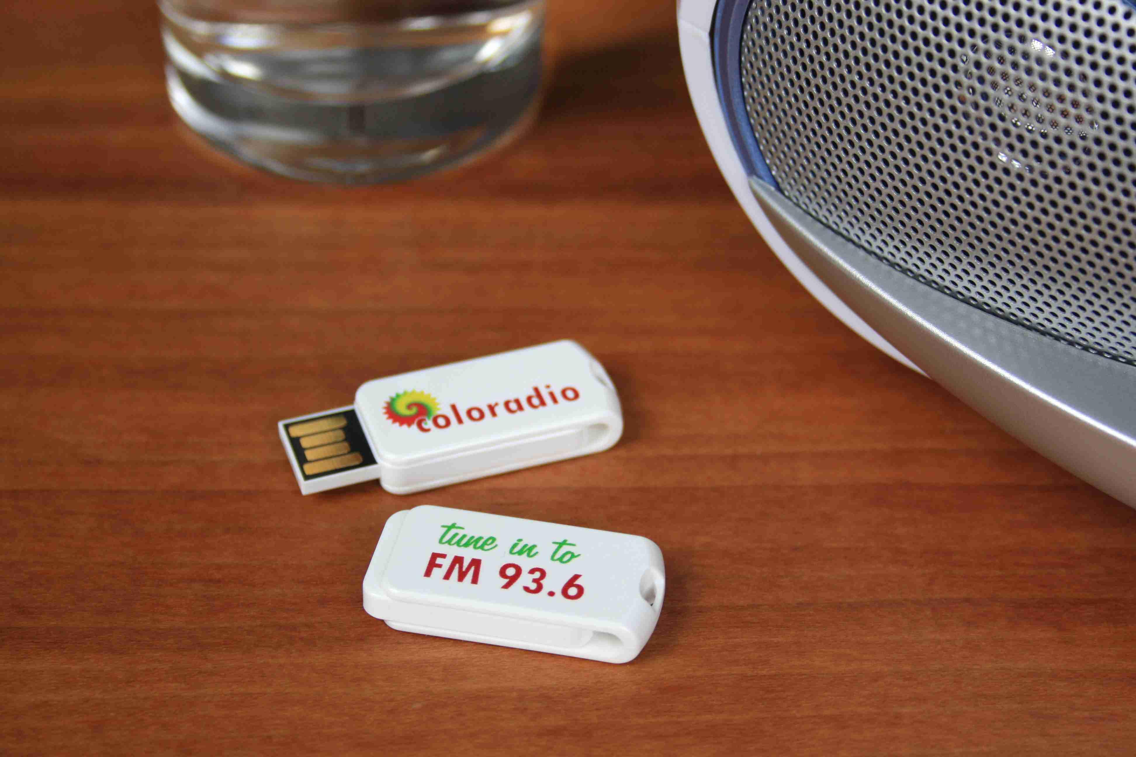 Clé USB publicitaire Smart Twist - objet publicitaire