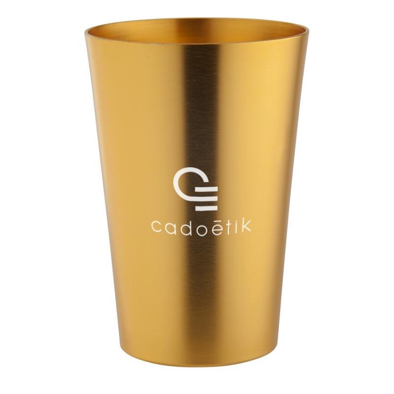 Tasse publicitaire Copper en aluminium