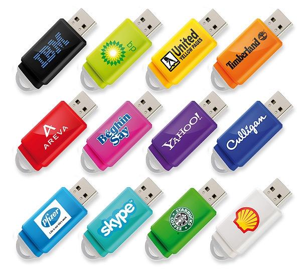 Clé USB publicitaire Slider - Objet publicitaire