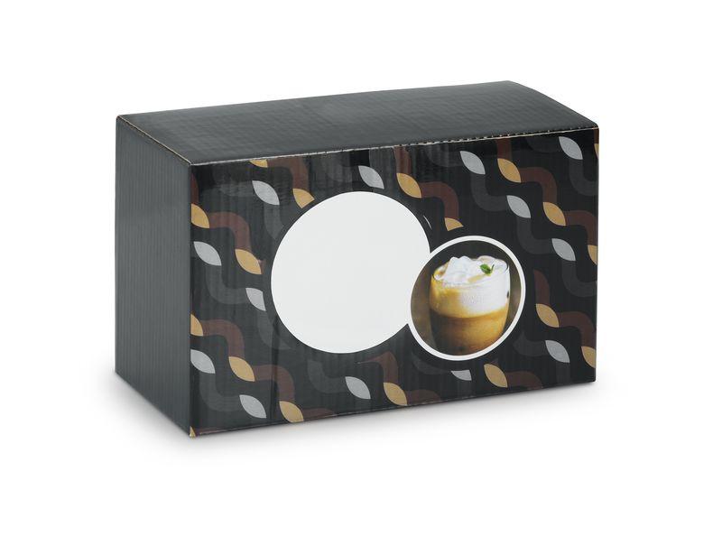 Cadeau publicitaire - Set de 2 verres Longo