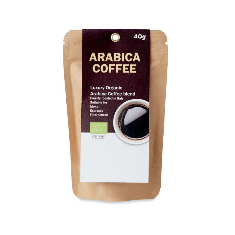Café moulu biologique 40g Arabica goodies
