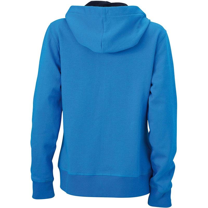 Cadeau d'entreprise - Sweat-shirt personnalisé à capuche Femme Jess - orange