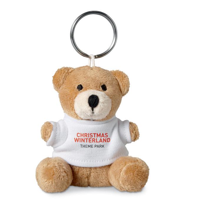 Porte-clés publicitaire pour enfant avec ourson - Goodies salon