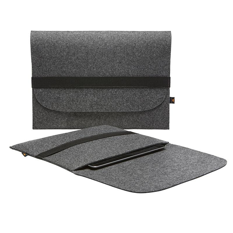 Porte-documents publicitaire pour tablettes avec fermeture élastique