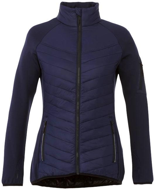 Textile publicitaire - Doudoune publicitaire Hybride Banff Femme - marine