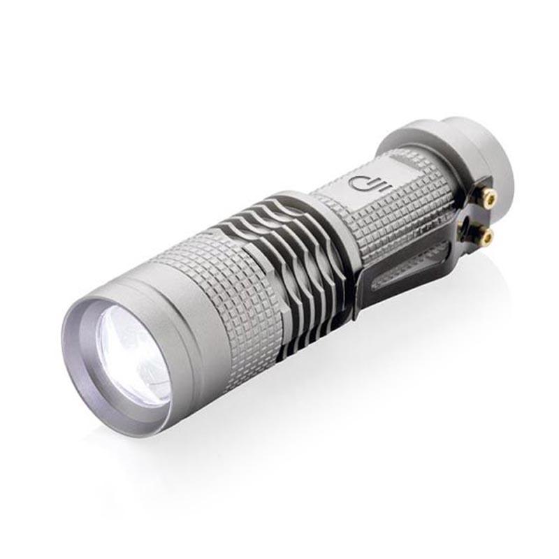 Lampe torche personnalisée Mini CREE 3W - Objet publicitaire lumineux