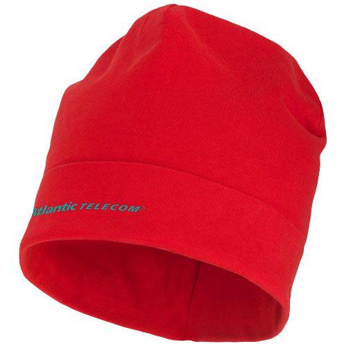 Bonnet publicitaire rouge