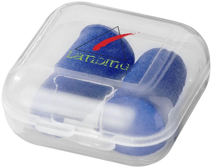 Bouchons anti-bruit Tranquillity dans boîte de voyage en plastique