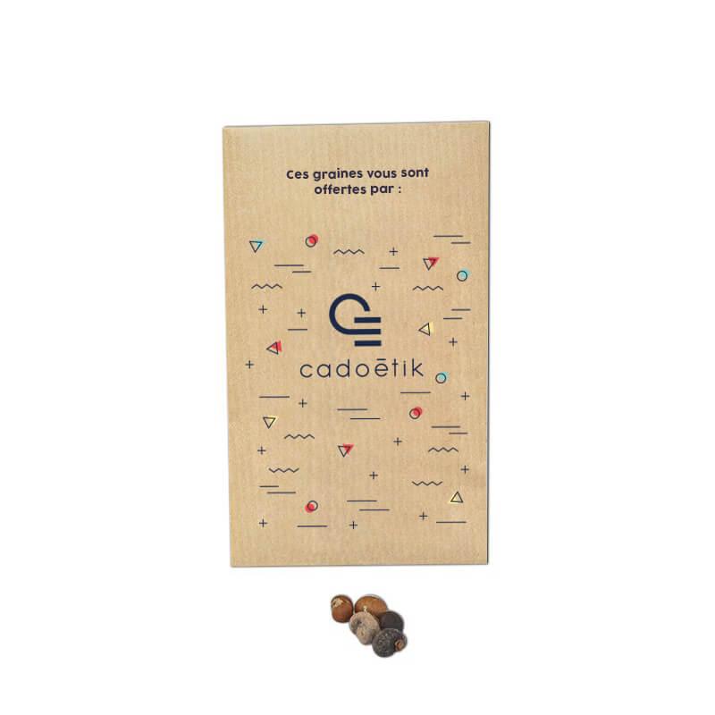 Goodies écologique - Sachet de Graines Exotique Kraft