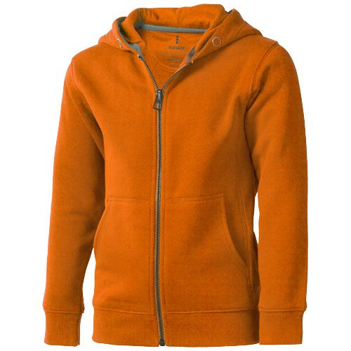 Veste à capuche enfants orange