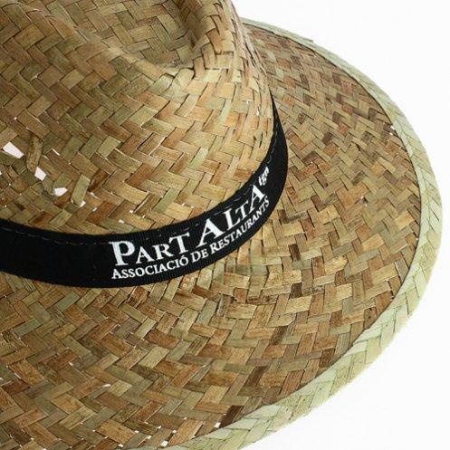Coloris bande personnalisable - Chapeau publicitaire Panama