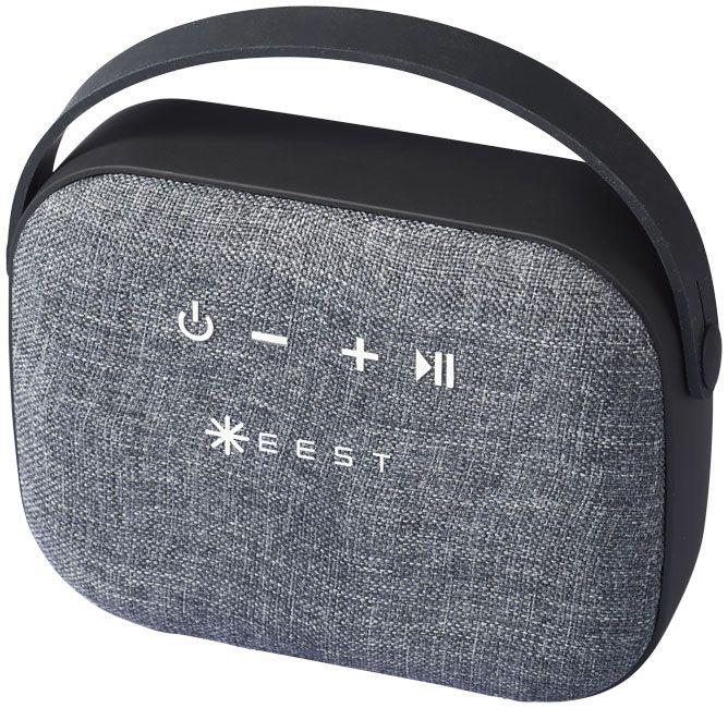 Enceinte Bluetooth publicitaire Woven avec micro intégré