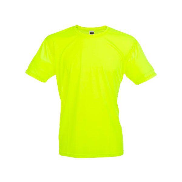 T-shirt technique publicitaire pour homme Nicosia jaune