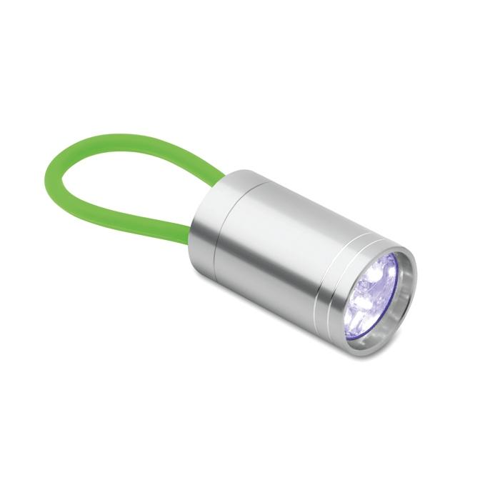 Lampe torche publicitaire Glow pour vélo - vert