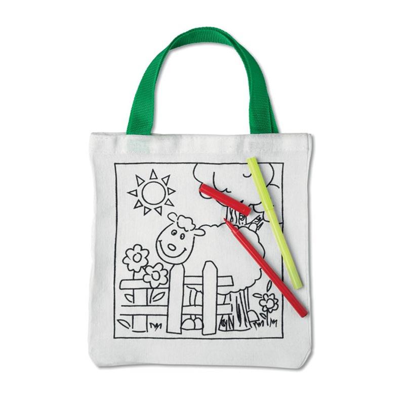 Tote bag publicitaire - Sac coton à colorier Mateusz