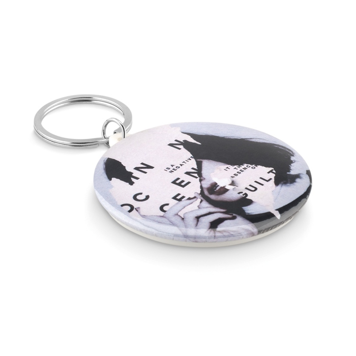 Goodies - Porte-clés Pins personnalisable Pin Ring