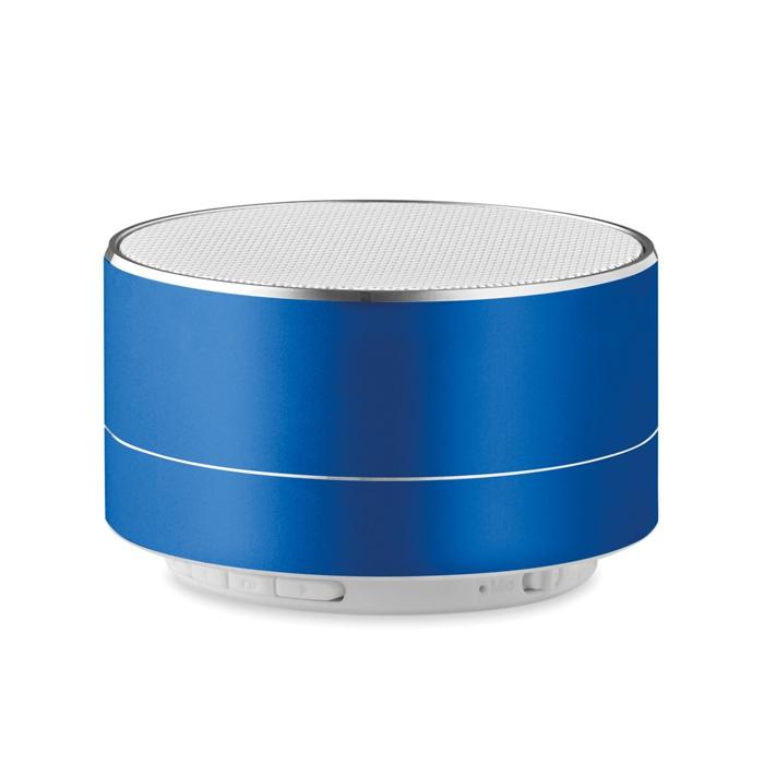 Objet publicitaire - Haut-parleur Bluetooth® personnalisé rond Sound