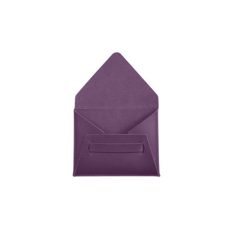 Porte carte de visite personnalisable en cuir recyclé Turo