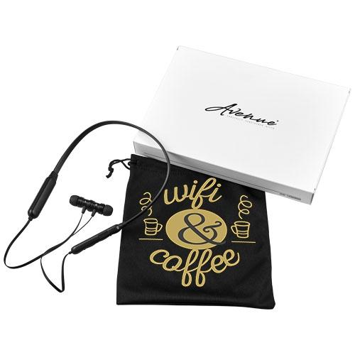 Écouteurs Bluetooth® publicitaires Twins - cadeau client