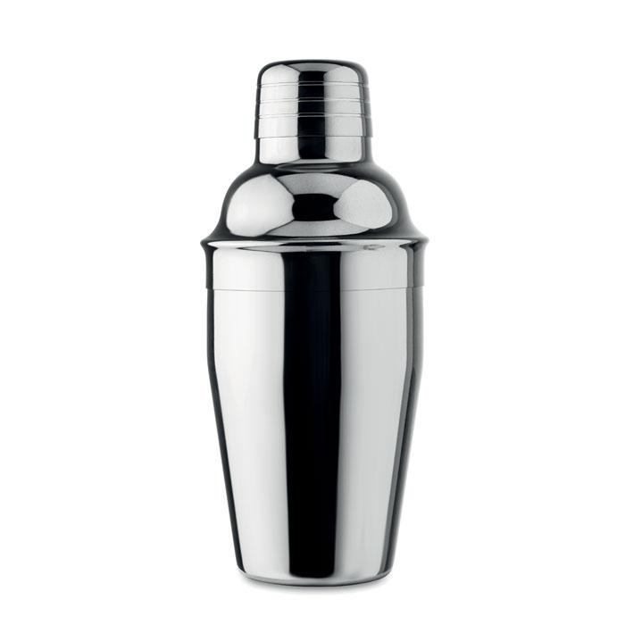 cadeau publicitaire - Shaker à cocktail publicitaire brillant Fizz
