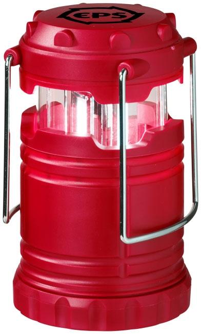 Lanterne publicitaire avec lumière COB Cobalt rouge