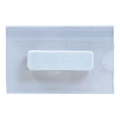 Goodies congrès - Badge publicitaire aimanté 5,7 X 9 cm