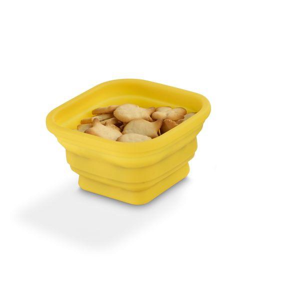 Accessoire de cuisine publicitaire écologique - Plateau avec 3 bols en silicone Silibou