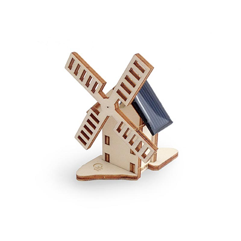 Cadeau d'entreprise écologique - Mini moulin en bois 9 cm