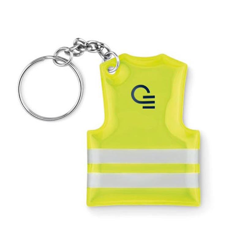 Goodies - Porte-clés gilet de  sécurité Visible Ring