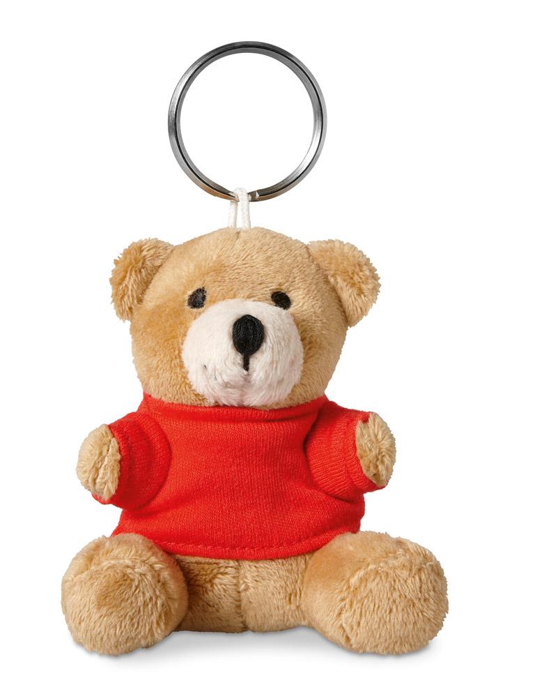 Porte-clés publicitaire pour enfant avec ourson - Objet publicitaire