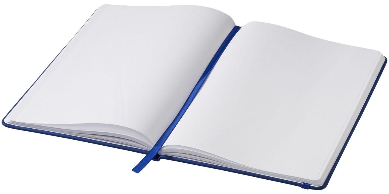 Carnet de notes personnalisé A5 Spectrum avec pages blanches - carnet de notes personnalisable