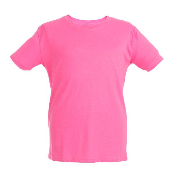 T-shirt personnalisable unisexe pour enfant Quito couleur rose