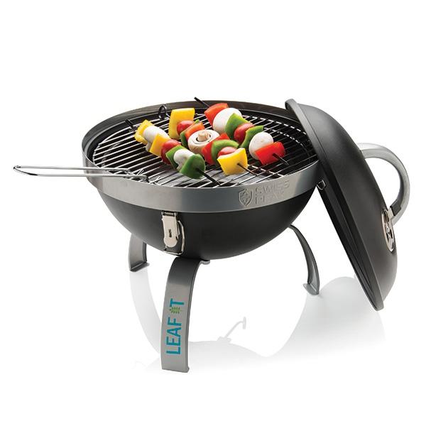 Mini barbecue personnalisable Swiss Peak Joyful - cadeau d'entreprise personnalisé