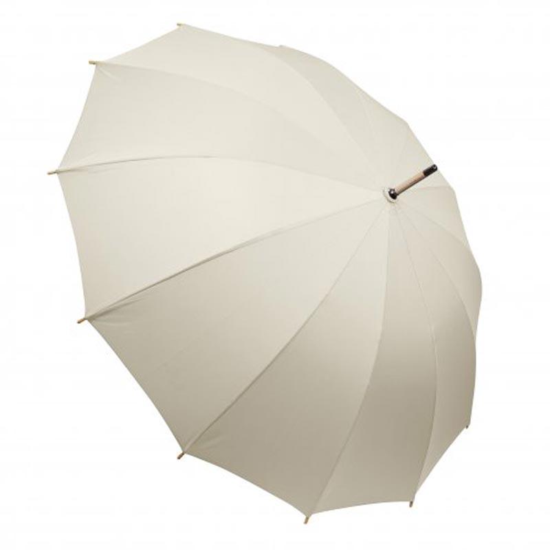Parapluie publicitaire ville Chiccity - beige