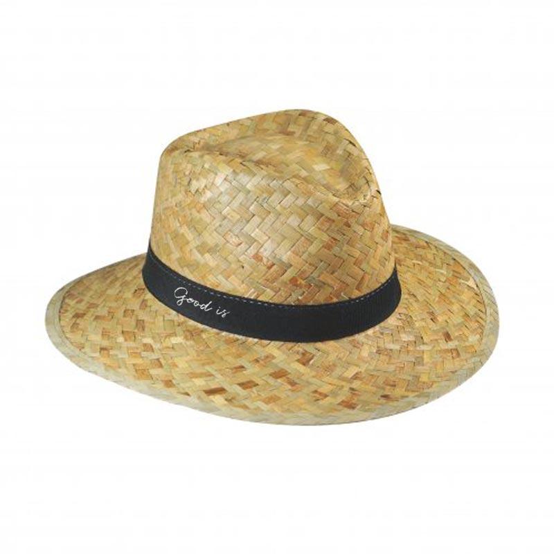 Chapeau de paille publicitaire Bip - Chapeau personnalisable
