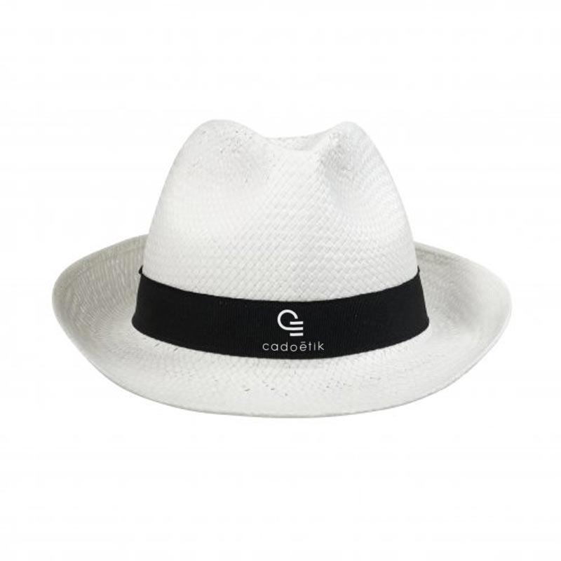 Chapeau personnalisé Doulos paille de papier - chapeau personnalisable