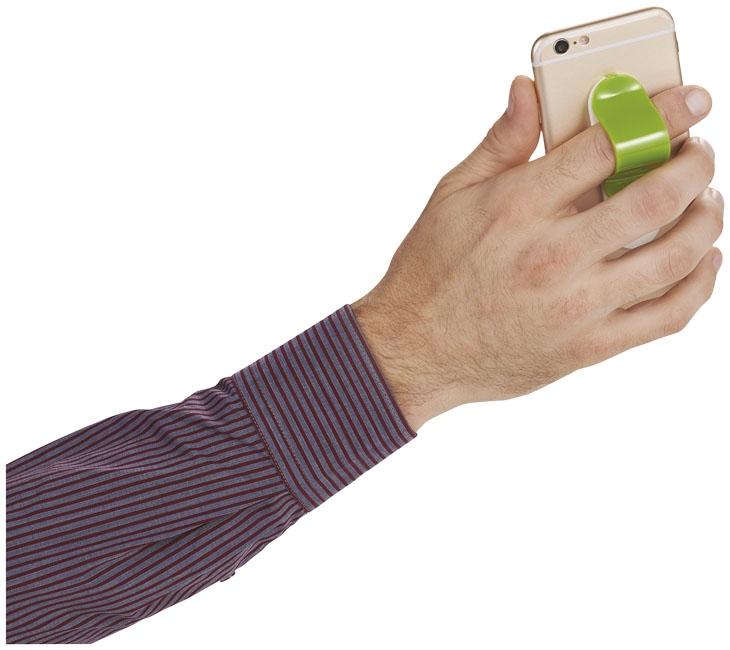 Goodies - Support pour Smartphone publicitaire Compress - rouge