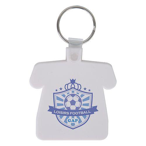 Porte clé personnalisé en forme de maillot