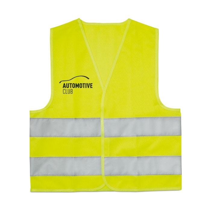 Gilet sécurité enfant fluorescent