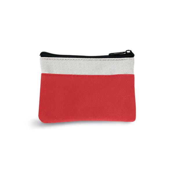 Trousse personnalisable pour porte-clés Deed rouge - goodies