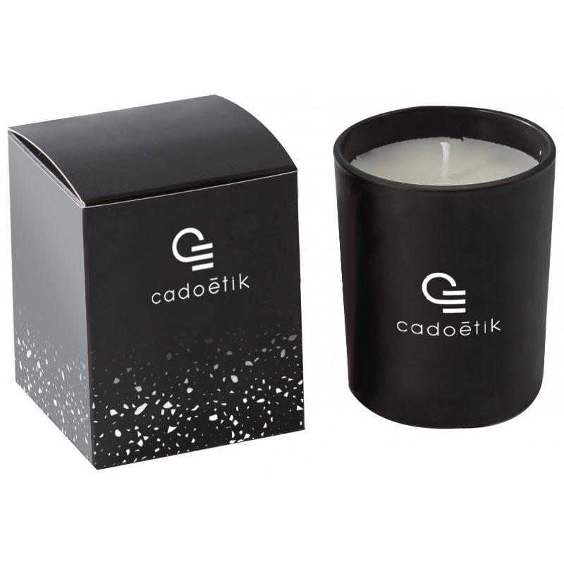 Bougie parfumée Frenchy personnalisable - Cadeau entreprise bien-être