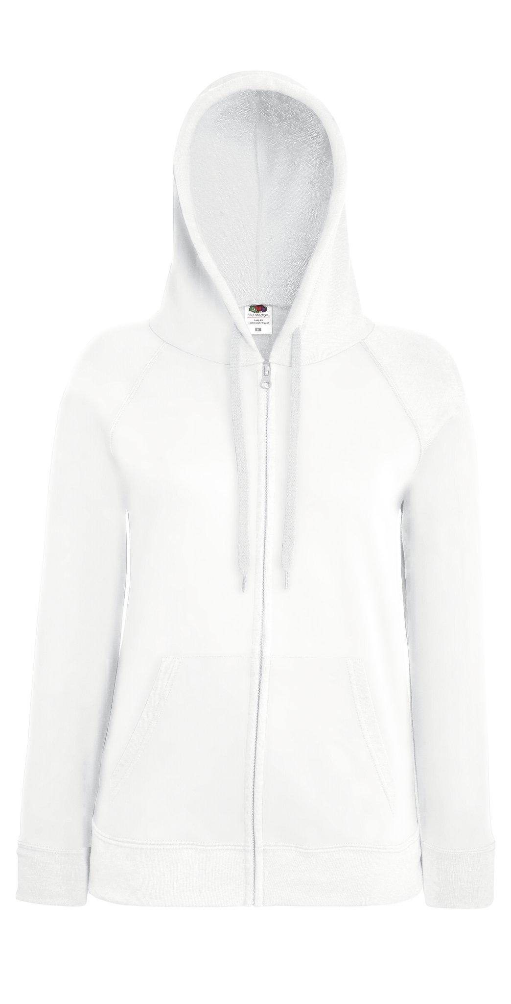 Sweatshirt à capuche personnalisable Lightweight hood gris clair pour femme