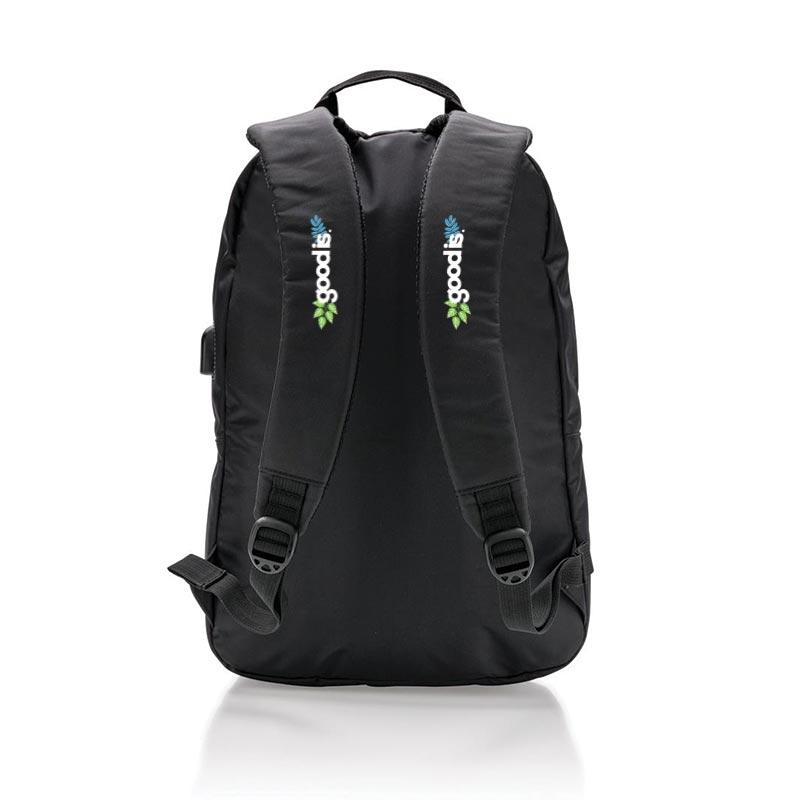 Cadeau d'entreprise - Sac à dos pour ordinateur avec prise USB Tool