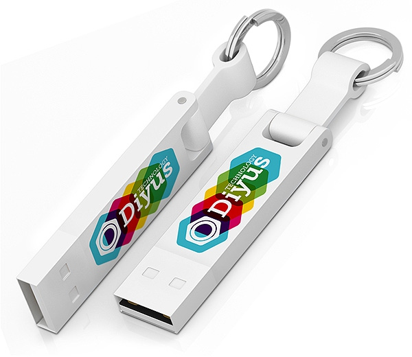 Clé USB publicitaire Iron Elegance C - Cadeau publicitaire