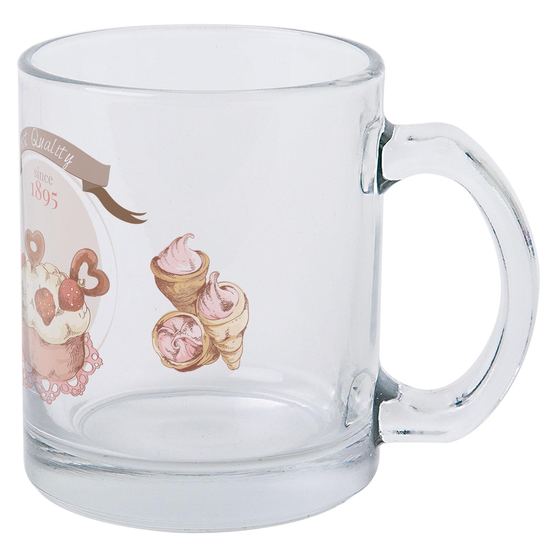Mug publicitaire 30 cl en verre Translucide - Objet promotionnel