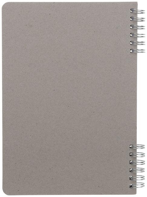 Carnet publicitaire Flex A5 - carnet promotionnel gris