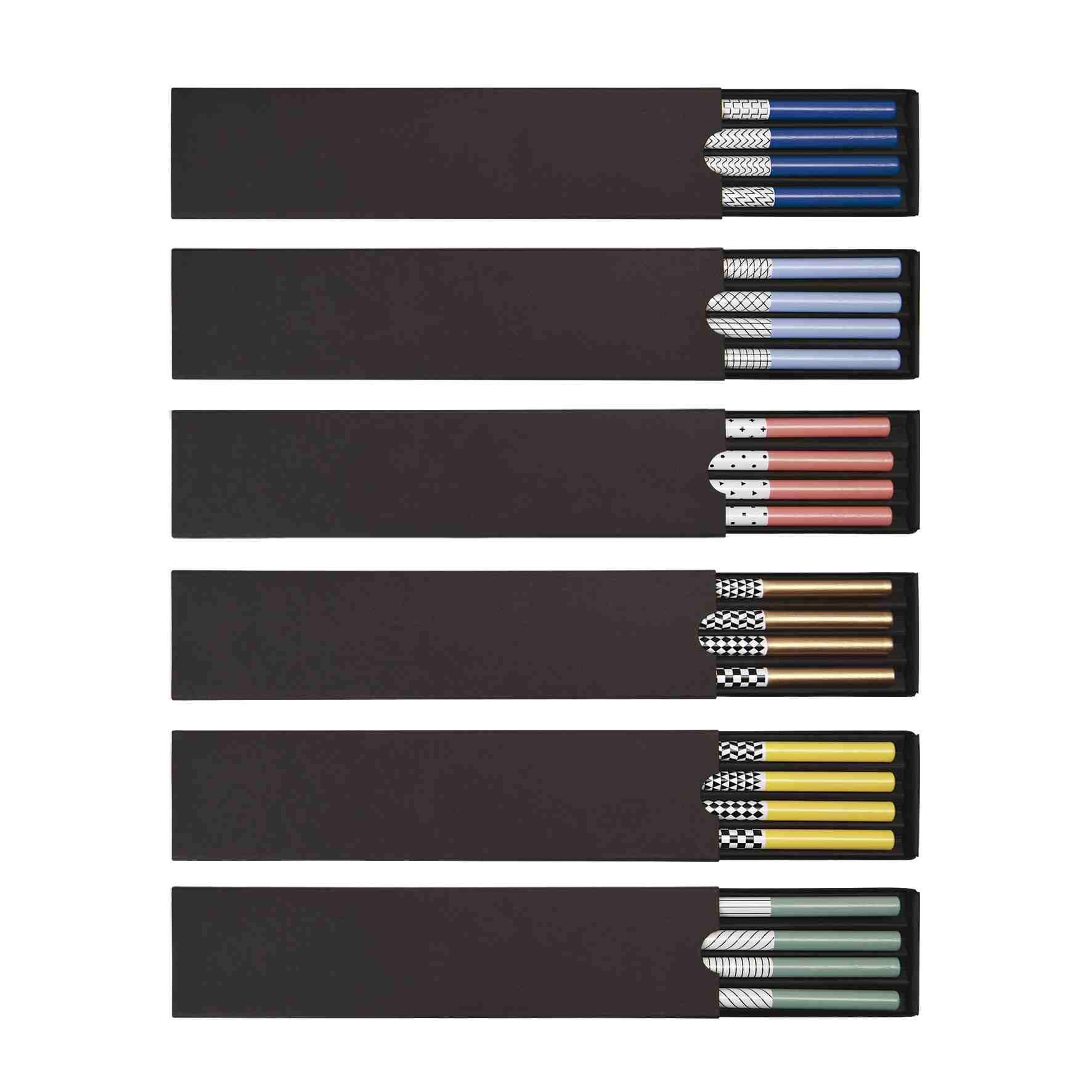 objet publicitaire écologique- set 4 crayons papier personnalisables écolos Graph
