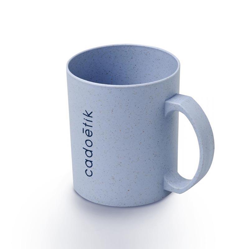 Mug réutilisable en fibres de paille de blé Pécos -  Goodies 100% écologique