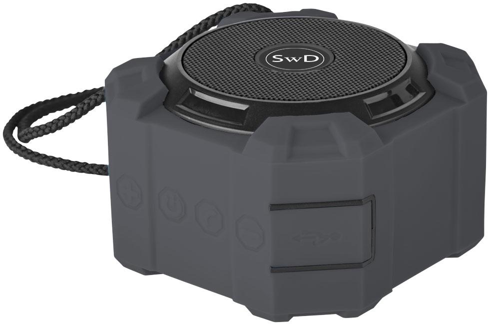 Haut-Parleur Bluetooth® publicitaire Cubo - enceinte publicitaire